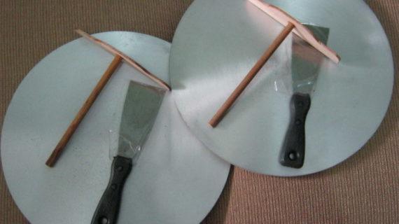 Jual Loyang Crepes Aluminium